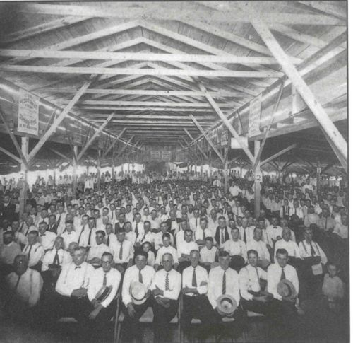 Traveling evangelists filled tent meetings and large meeting halls in the late 19th century. Photo & Traveling evangelists filled tent meetings and large meeting halls ...