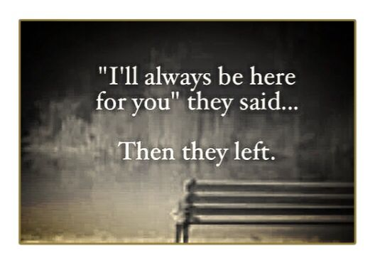I'll Always Be Here For You . . .