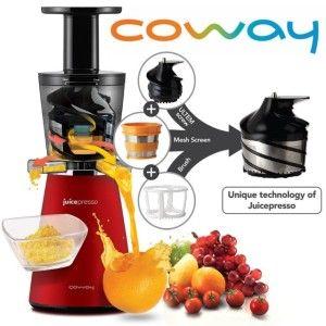 Coway JuicePresso CJP 03 Slowjuicer Werking