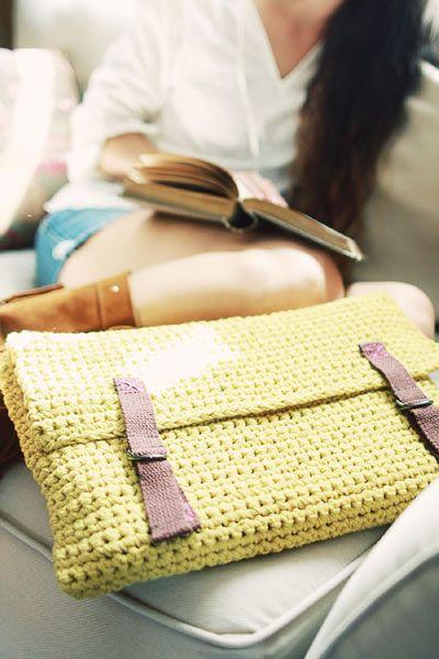 Crochet Boutique Laptop Sleeve