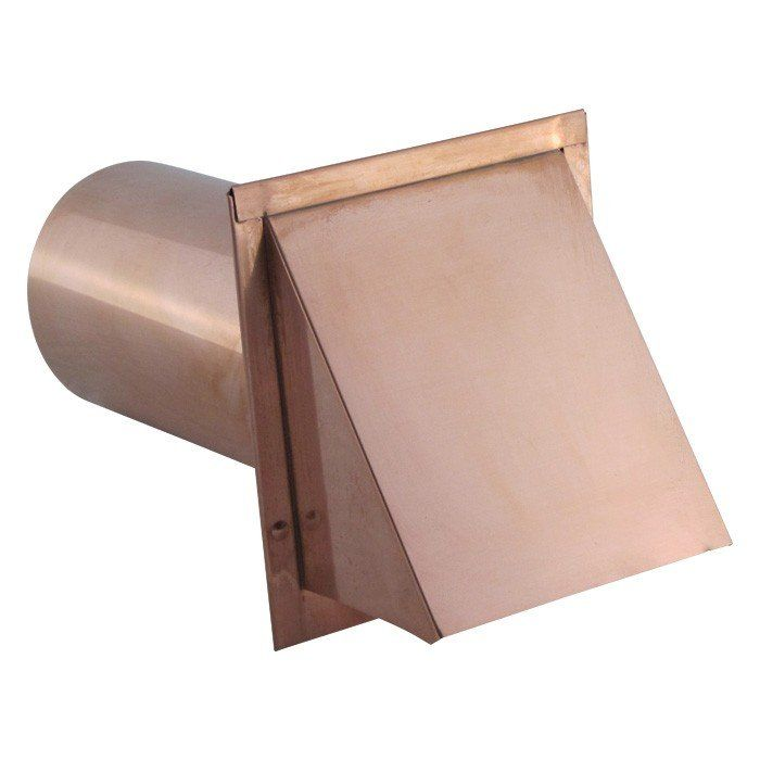 Copper Wall Vent With Damper No Screen Wall Vents Copper Wall Aluminum Wall