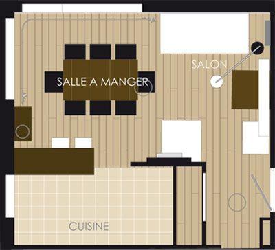 Petit espace  salon ou salle à manger ? Pinterest Salons