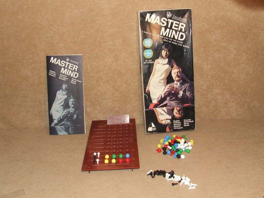 Invicta Mastermind Game Boxed And Complete With