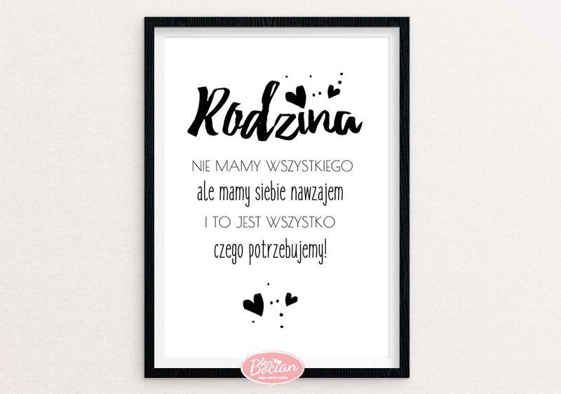 Czarno Białe Plakaty Z Polskimi Napisami Sztuka Plakat