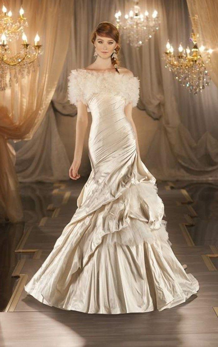 100 einzigartige Modelle Champagne Brautkleider!   Brautkleider ...