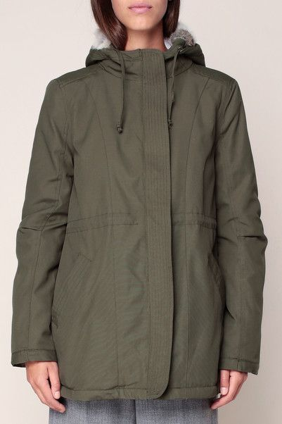 830283224290b Parka à capuche kaki Willy - Paul   Joe Sister   parka   Pinterest ...