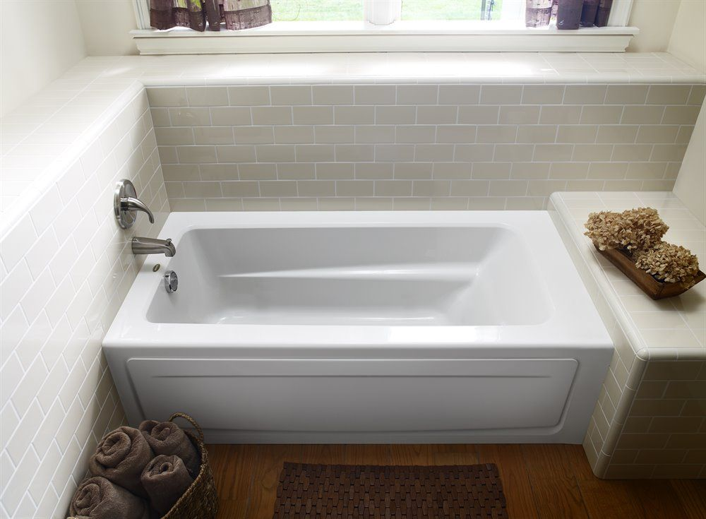 jacuzzi p1s6032blxxxxw primo white acrylic rectangular skirted