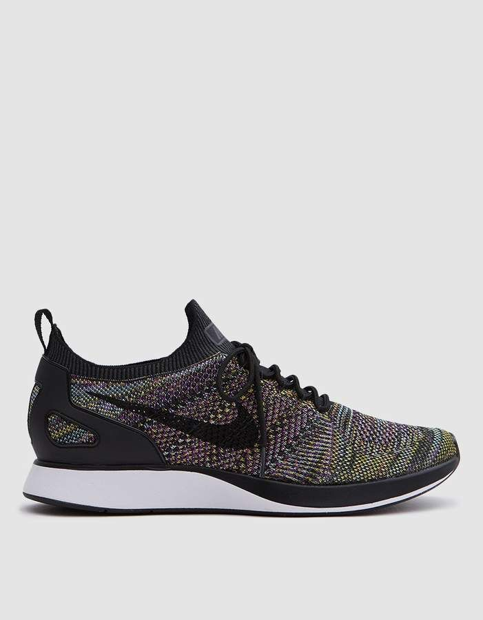 the best attitude 02cd0 858cd Nike Air Zoom Mariah Flyknit Racer in Black/Black in 2019 | Shoes ...