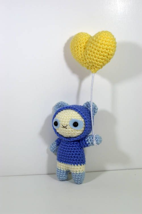 Hooded Balloon Animals (Pattern Included) - CROCHET | croché ...