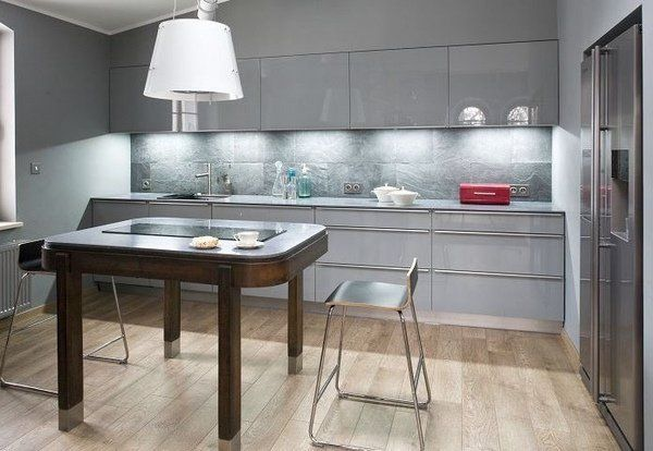 small kitchen design ideas modern grey kitchen cabinets under cabinet lighting white pendant on kitchen ideas white and grey id=32180