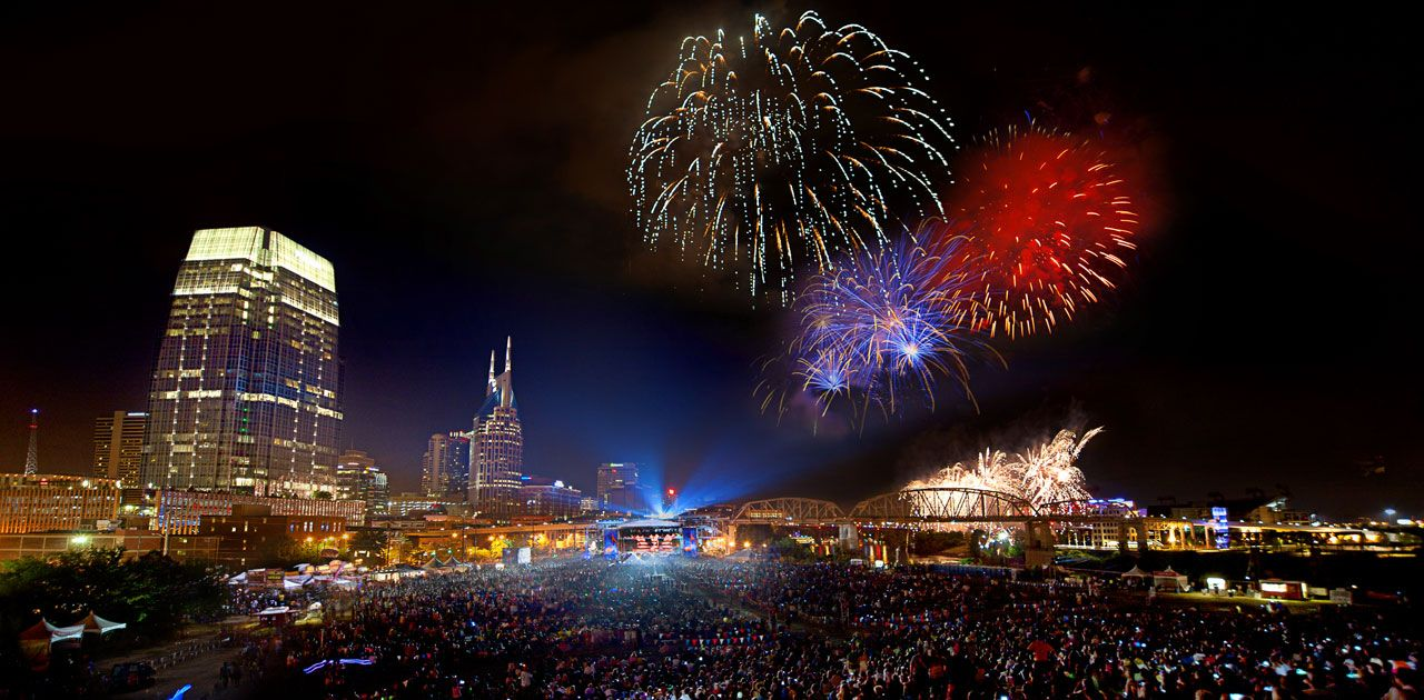 You CAN'T miss Nashville on the 4th of July! Visit