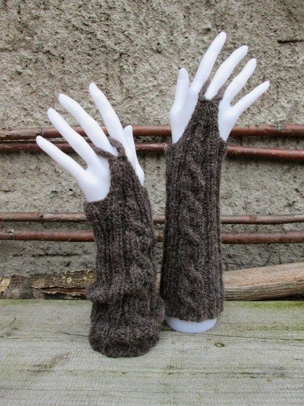 Bramble Leaf Handstulpen Eine Freie Anleitung одеждаварежки