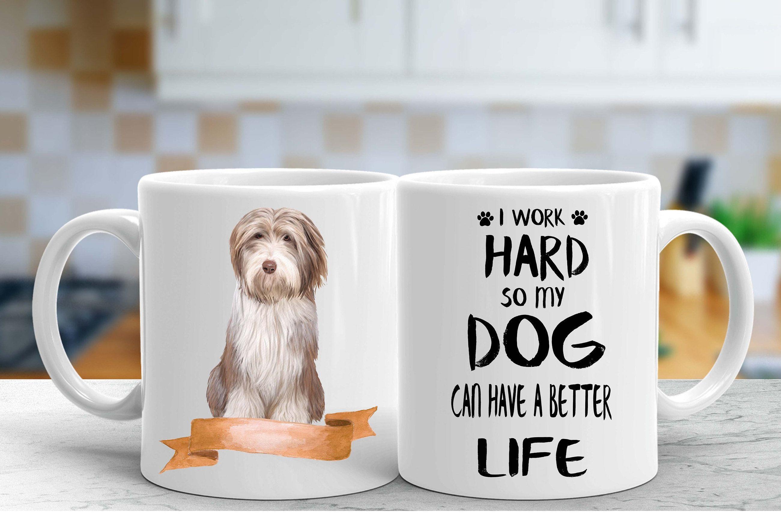 Bearded collie custom mug dogs lovers gifts dogs breeders custom mugs Mug