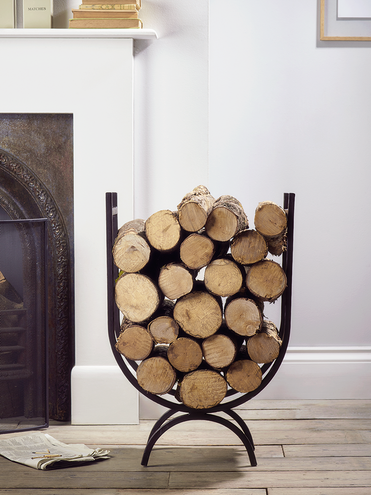 Made from solid weighty wrought iron, our Iron Log Holder - Tall ...
