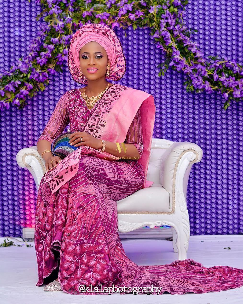 Asombroso Trajes De Novia En Nigeria Colección de Imágenes - Vestido ...