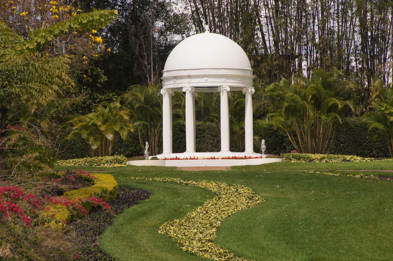 Historic Gazebo at Cypress Gardens, Winter Haven, Florida, 2013 ...