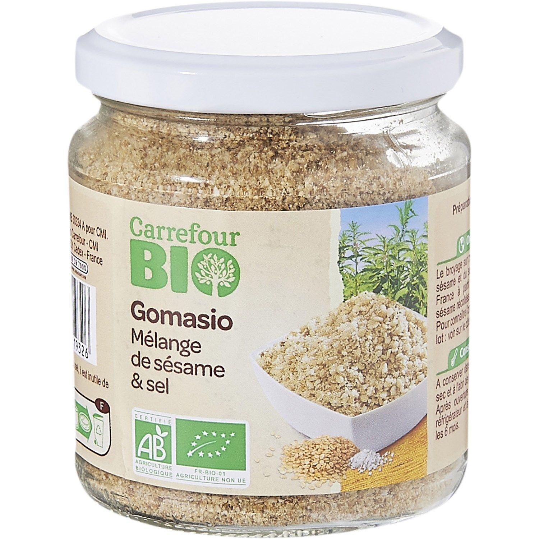 Gomasio Sesame Sel Carrefour Bio Le Bocal De 110 G A Prix