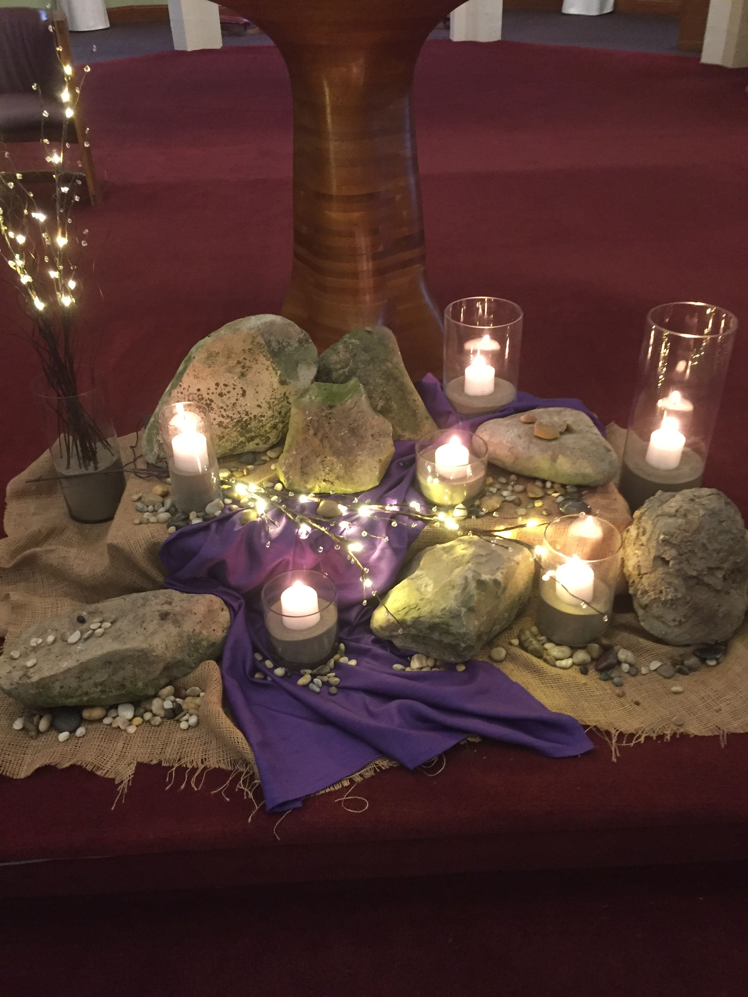 Ash Wednesday 2017 Lent Decorations For Church Church Altar
