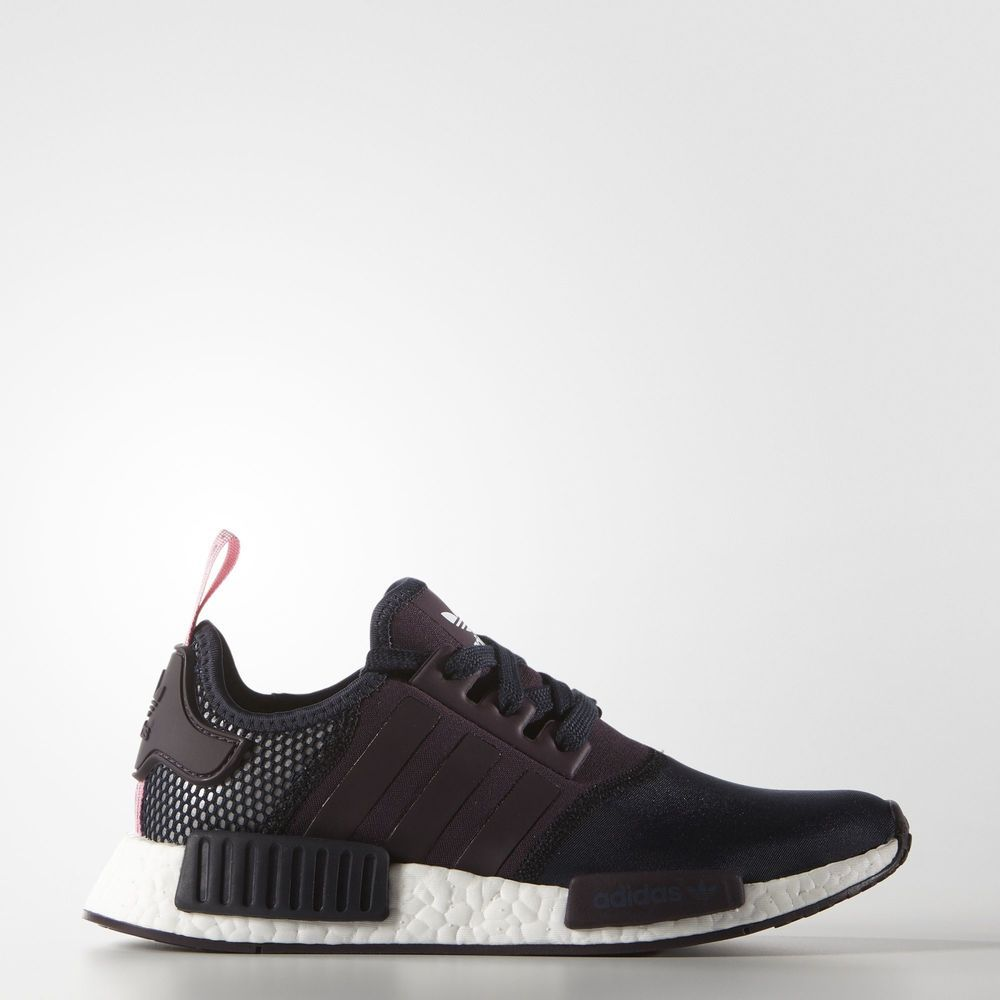 adidas nmd black and white womens