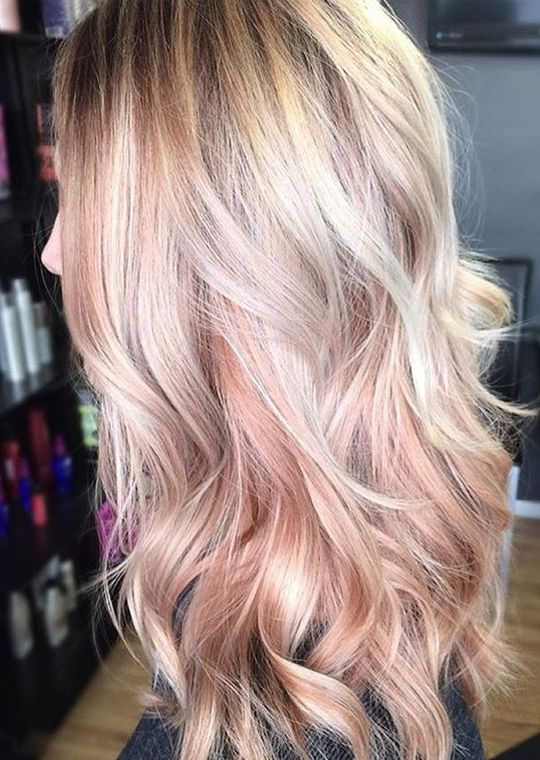 Edgy Long Hairstyles You Will Rock In 2017 2018 Hair Styles Pink Blonde Hair Long Hair Styles