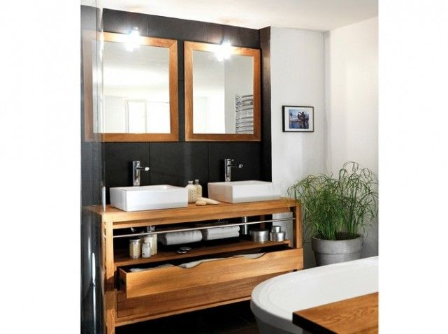 Salle de bains colonie lapeyre For the Home Pinterest - photo meuble de salle de bain