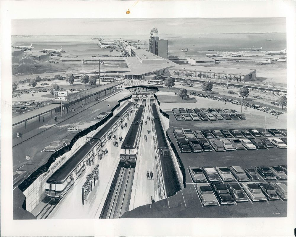 1965 Cleveland Ohio Cleveland Hopkins Airport Wire Photo | Pinterest ...