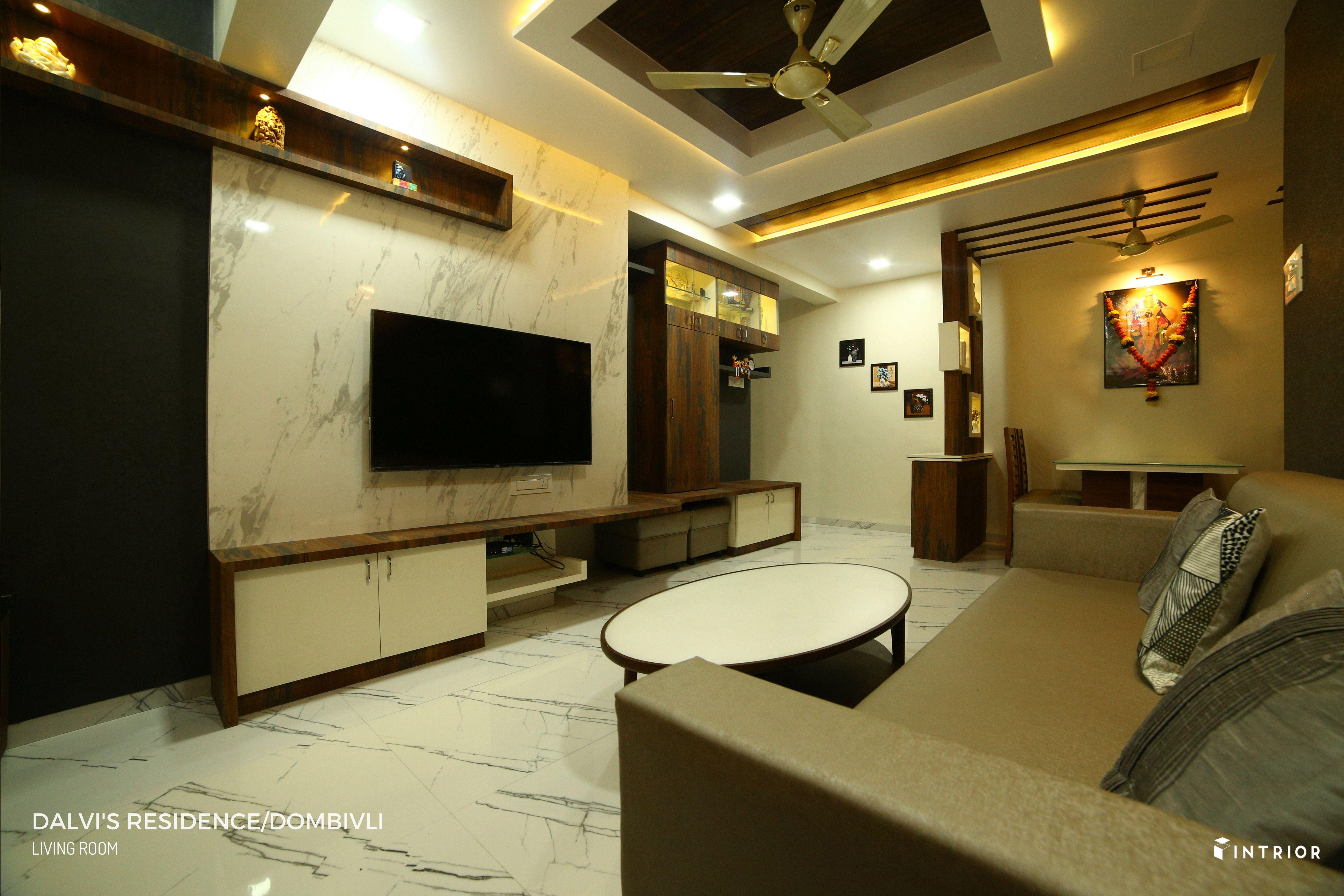 Tv Unit Design At Dombivli Thane Tv Unit Design Interior
