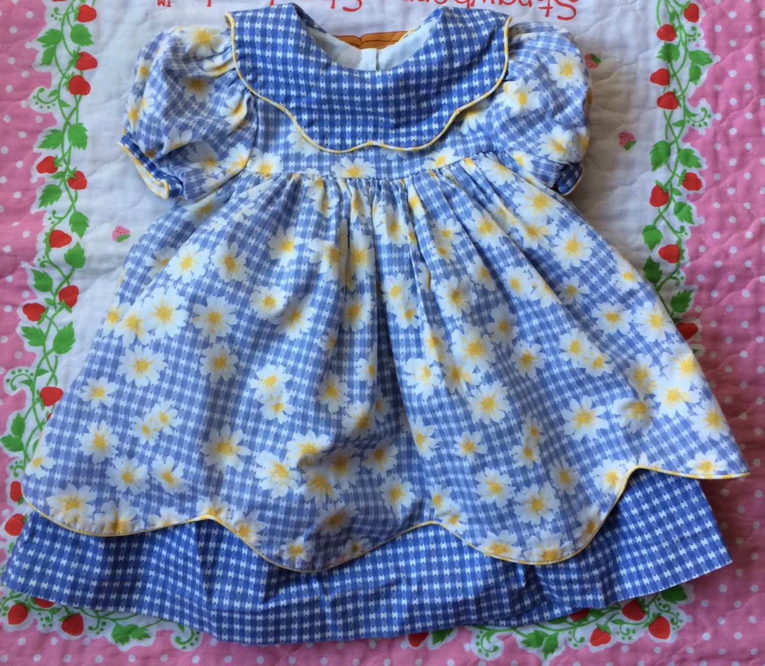 90s Daisy Dress 12/18 Months by lishyloo on Etsy