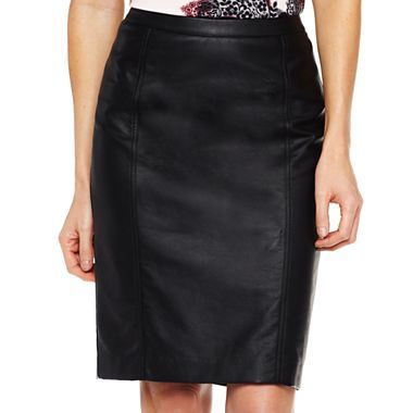 2e1fe720e1f7 Worthington® Faux Leather Skirt - jcpenney I think I would actually wear  this.