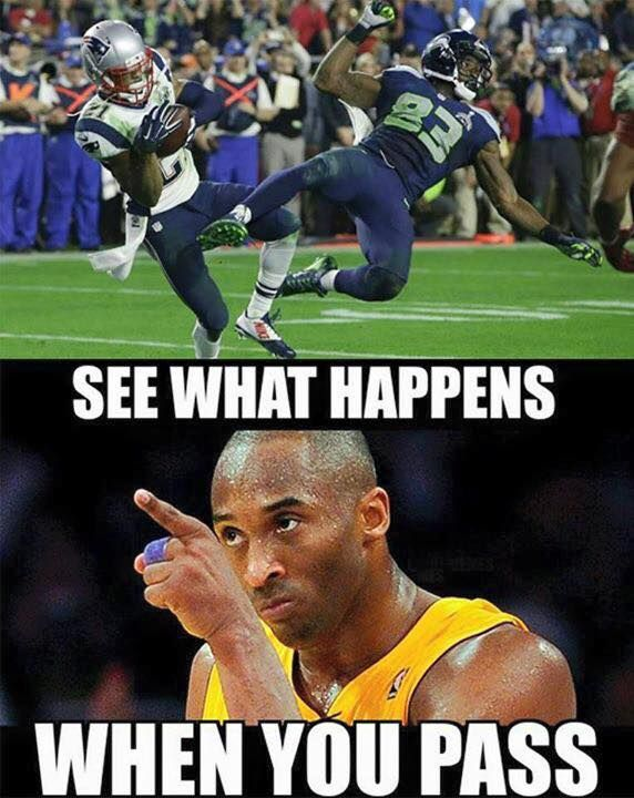 Super Bowl XLIX Memes Run The Ball Kobe Brian httpwww