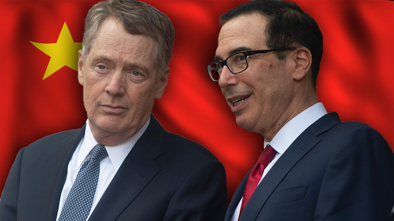 kudlow optimistic as lighthizer  mnuchin head to china for