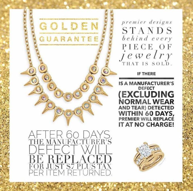 Revised Premier Designs Golden Guarantee Premier Designs Premier