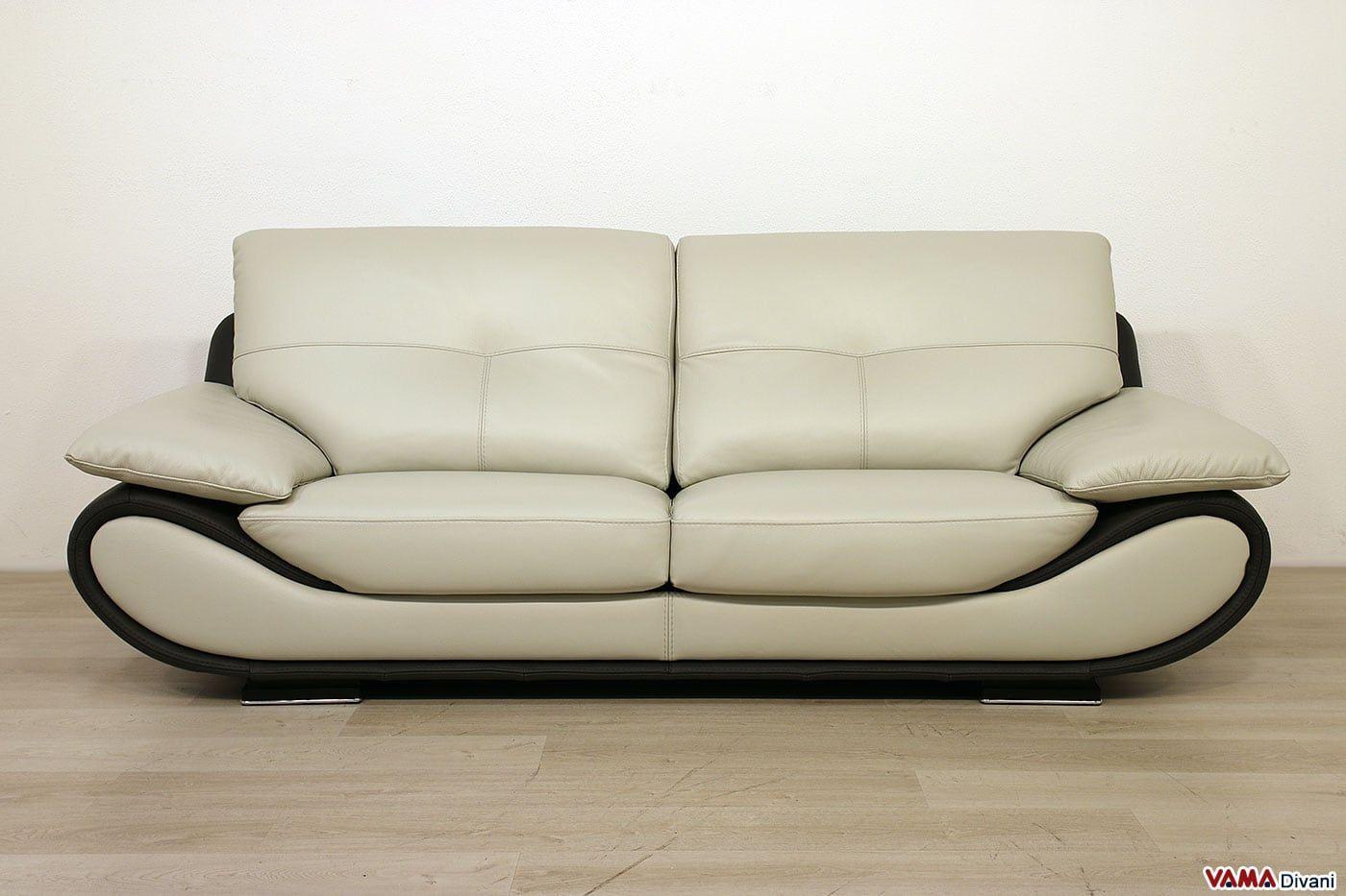 Divano in pelle moderno New Zealand VAMA Divani Sofa
