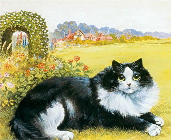 14-Chats dans l\'art classique (L.W) | Art peinture chats | Pinterest ...