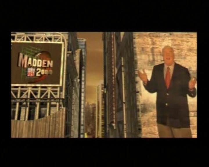 Madden 2000 playstation with images madden intro