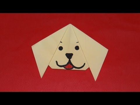 Easy Origami Paper Dog | 360x480