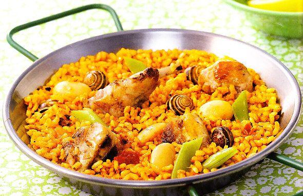 Recetas De Cocina Española Paella Valenciana | Paella Valenciana By Www Vinosyrecetas Com Dans La Cuisine