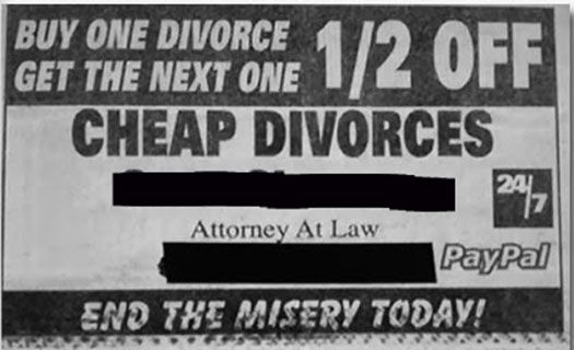 funny lawyer ad - Google Search | Tacky Lawyer Ads | Lawyer