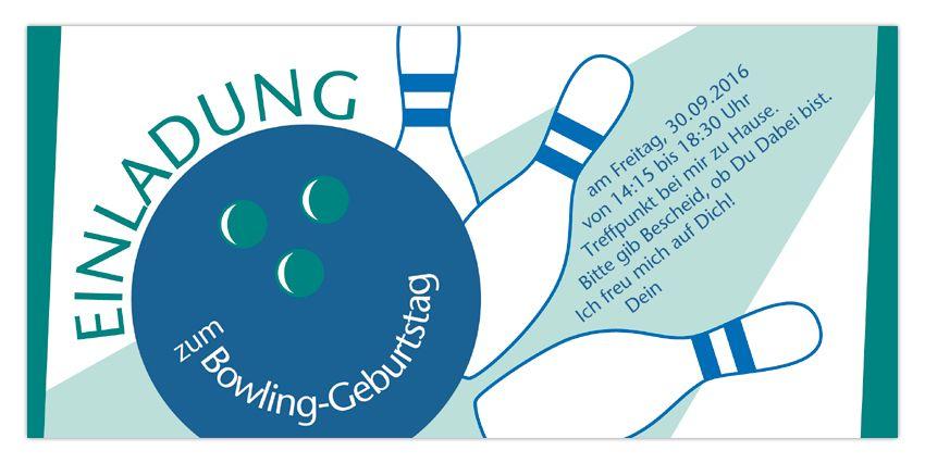 Einladung Zum Bowling Geburtstag   Diese Kindergeburtstags Einladung Kann  Als PDF Erworben Und Auf Dem Eigenen Drucker Ausgedruckt Werden.