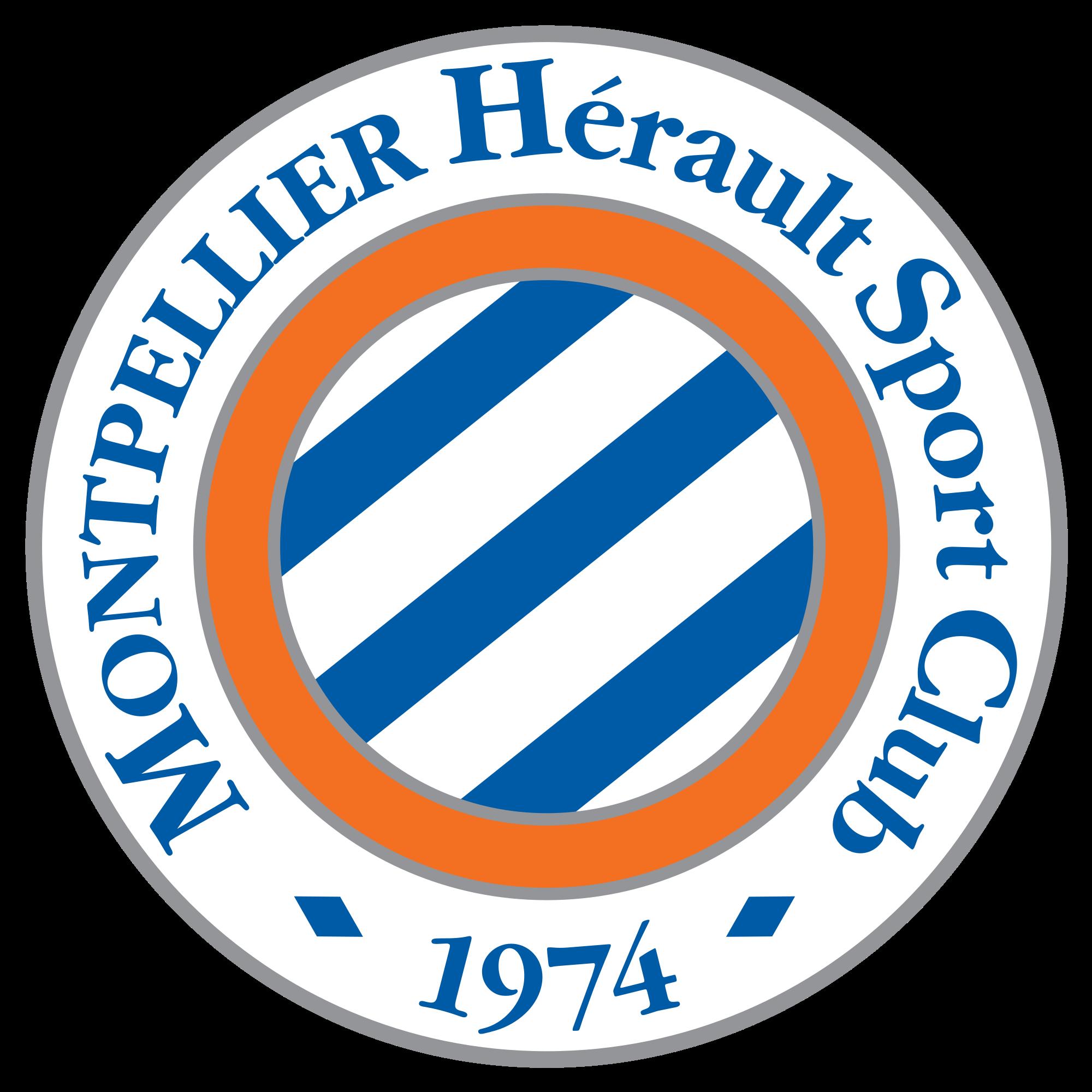 Montpellier Hsc Montpellier France Montpellier Football Team Logos Soccer Logo