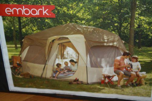 Details About Ozark Trail 14 X 10 Family Cabin Tent 10 Person Outdoor Camping Instant Camp Tent Cabin Tent Cool Tents