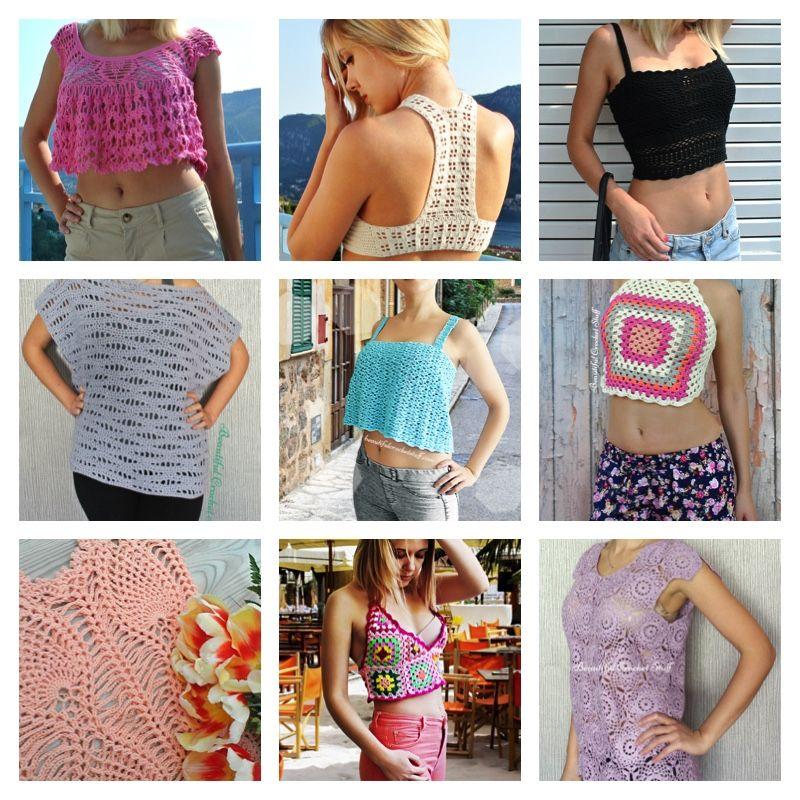 Free Crochet Tops Pattern Crochet Pinterest Free Crochet