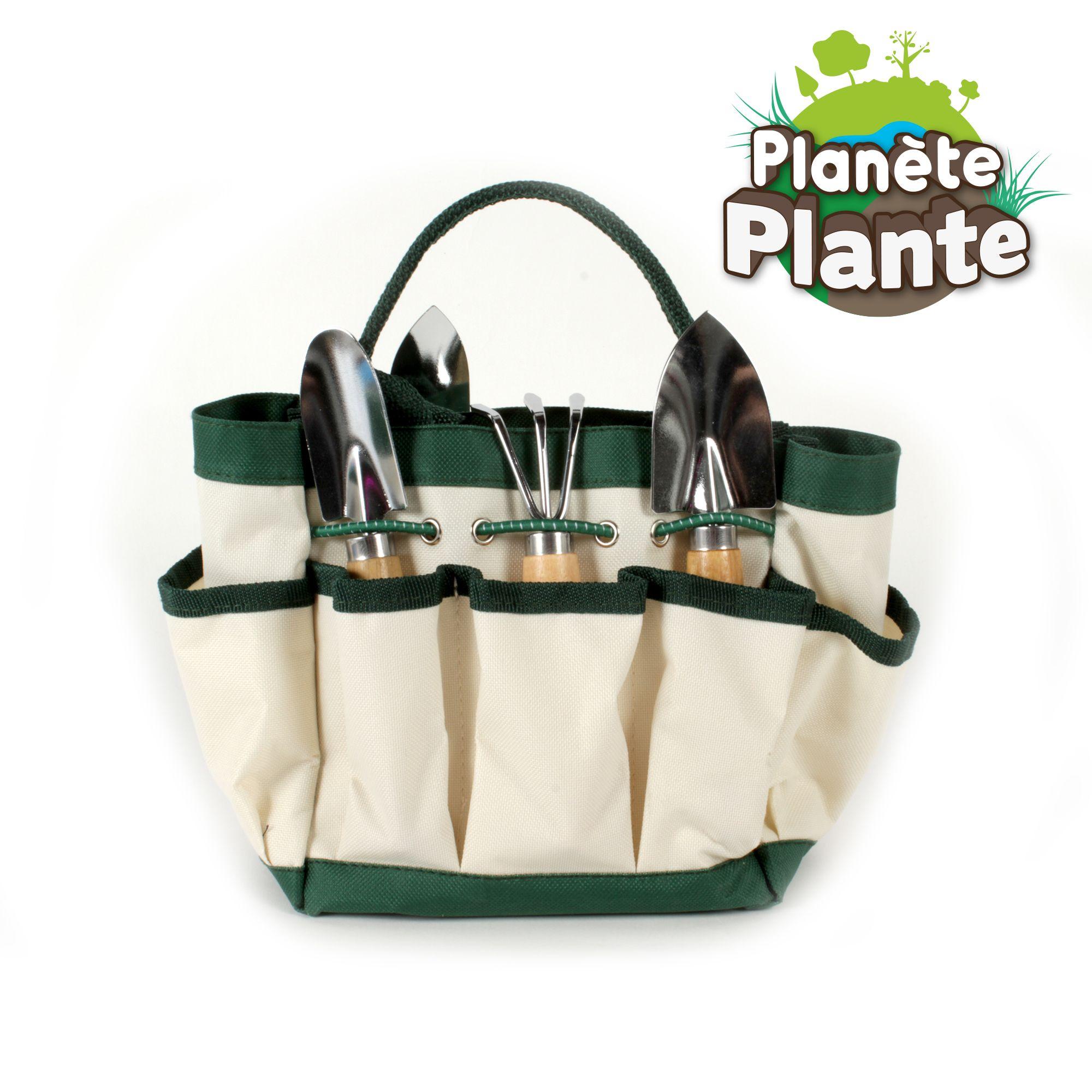 Les Outils De Jardinage Avec Photos sac de jardinage avec de véritables outils fournis et pensé