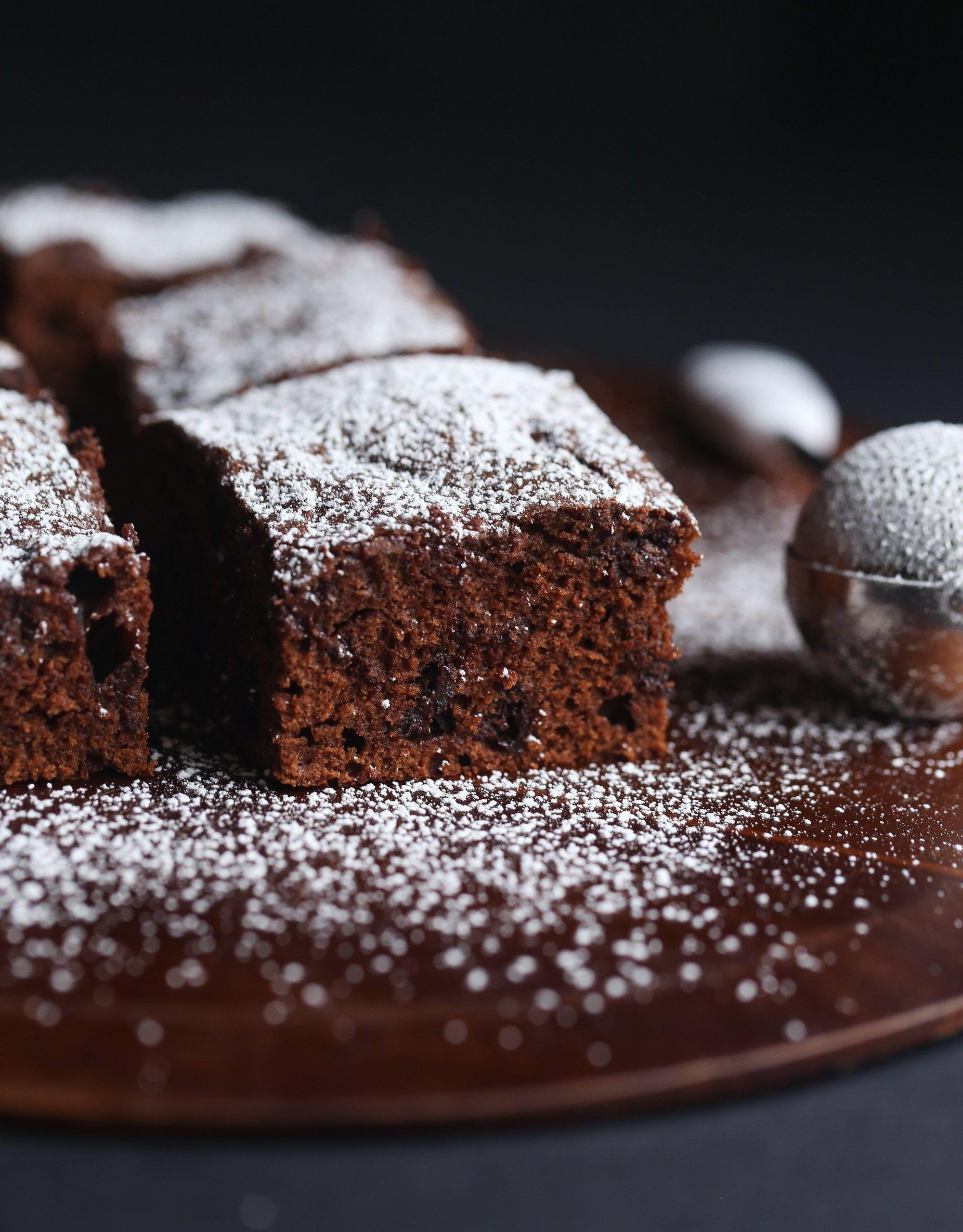 Sour Cream Chocolate Cake It S Like A Cross Between Cake And A Brownie Sour Cream Chocolate Cake Sour Cream Recipes Sour Cream Cake
