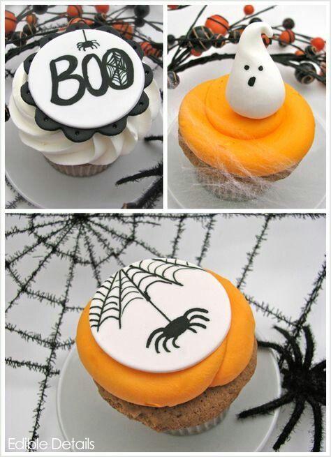 Pin by hilde coffernils on fondant\ - cupcake decorating for halloween