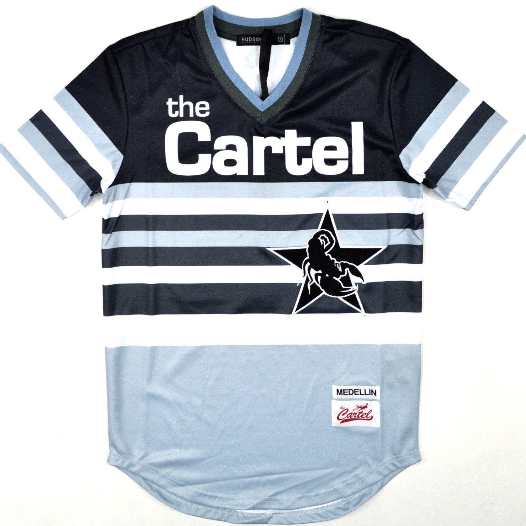 a3e280ce HUDSON THE CARTEL ESCOBAR 49 JERSEY | Jersey | Grey sweater, Sports ...