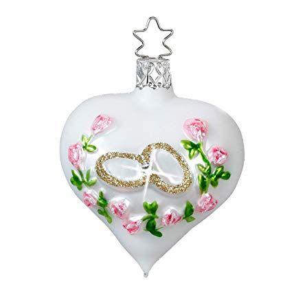 Inge-Glas Wedding Congratulations Heart 10039S017 German ...