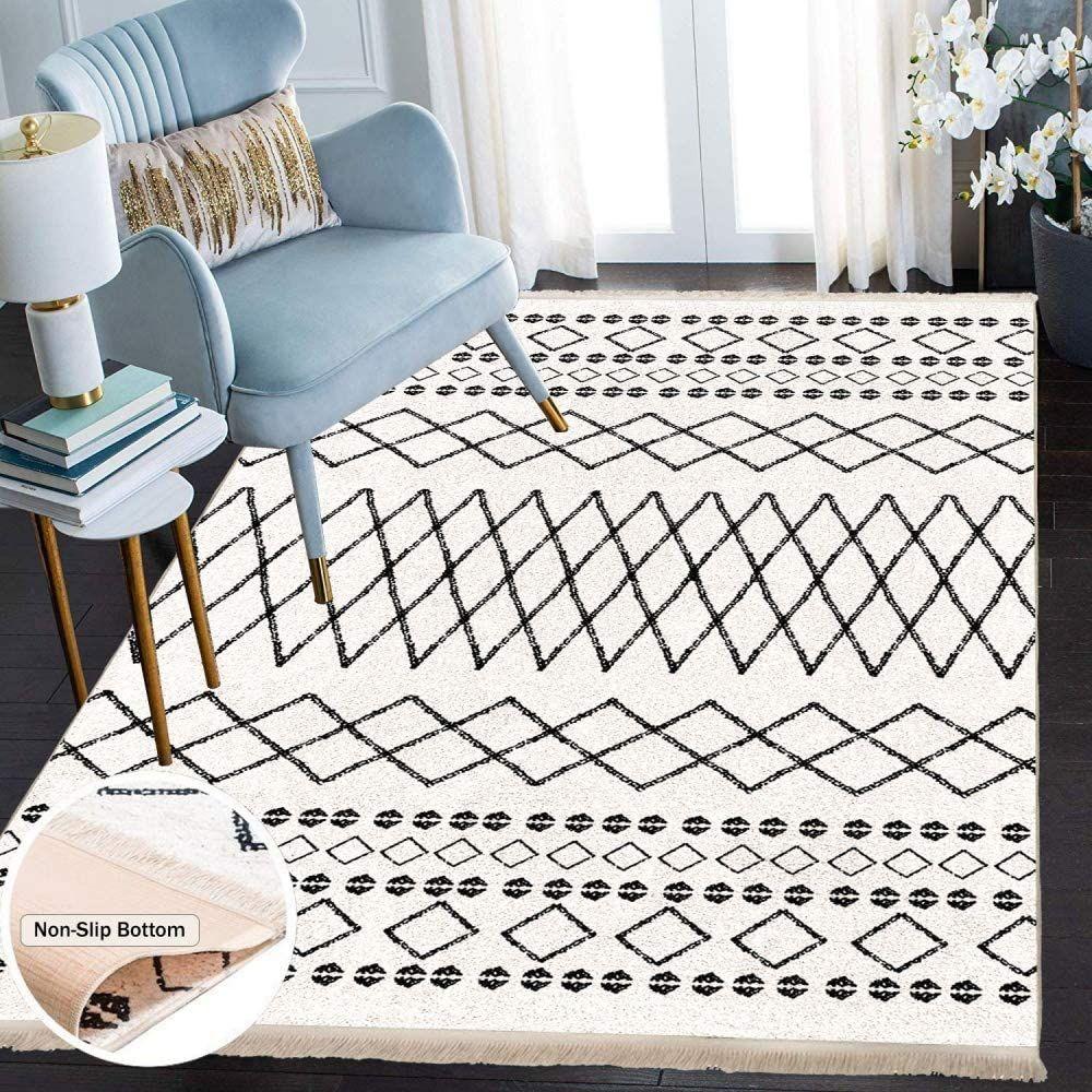 Amazon De Siela Waschbarer Teppich Fur Wohnzimmer Kuche Teppich Laufer Flur Deko Modern Teppiche In 2020 Teppich Wohnzimmer Teppich Waschbar Wohnzimmerteppich