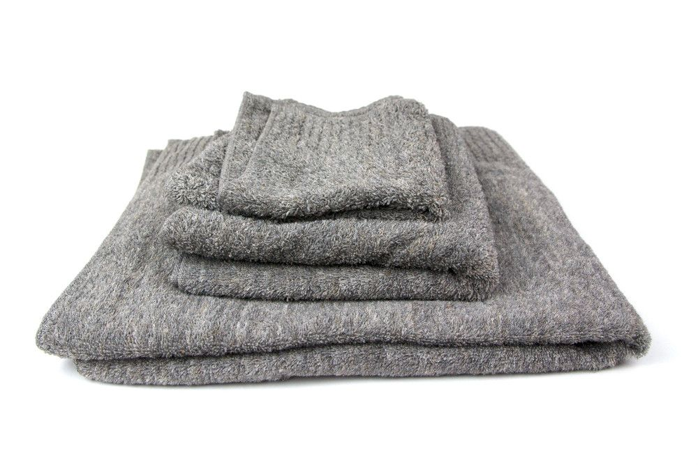 Vita Towel, Grey – rikumo