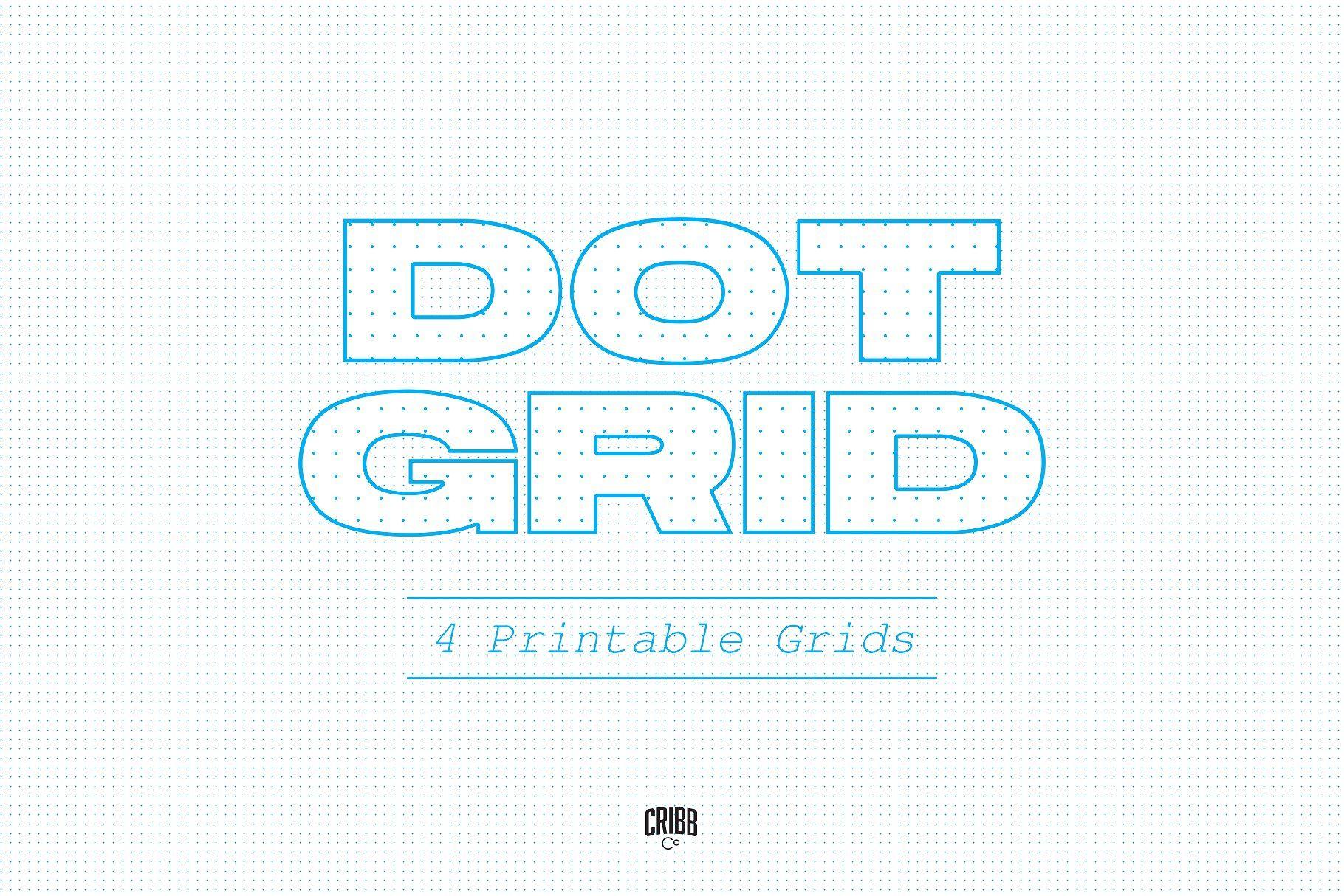 Dot Grid Paper Printable Template
